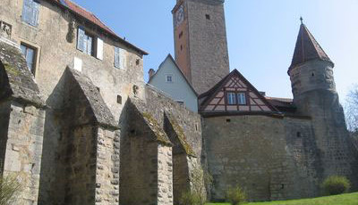 Rothenburg - Burggarten